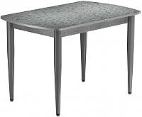Обеденный стол Васанти Плюс БРП 120x80/3К/ОА (алюминий/алюминий) -