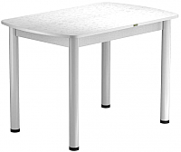Обеденный стол Васанти Плюс БРП 100x60/3/ОБ (белый/белый) -