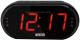 Радиочасы Mystery MCR-69 (черный/красный) -