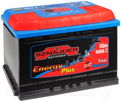Лодочный аккумулятор Sznajder Energy 80 R (80 А/ч)