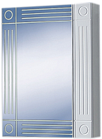 Шкаф с зеркалом для ванной Акваль Оливия 50 / EO.04.50.00.N -