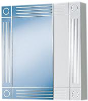 Шкаф с зеркалом для ванной Акваль Оливия 60 / EO.04.60.00.N -