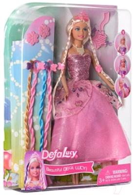 Кукла Defa Lucy с косичками 8182