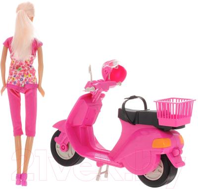 Кукла Defa Со скутером 8206