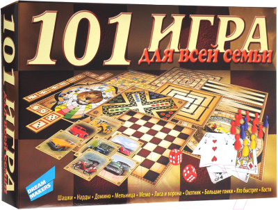 Настольная игра Dream Makers 101 игра. New / 1601H