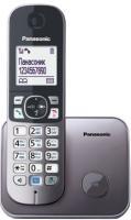 Беспроводной телефон Panasonic KX-TG6811 (серый металлик) -