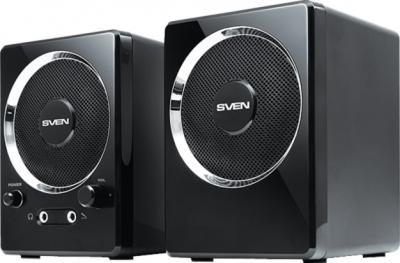 Мультимедиа акустика Sven 247 (черный) - общий вид