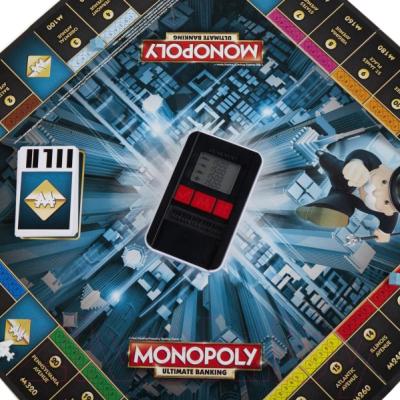Настольная игра Hasbro Монополия с банковскими картами / B6677