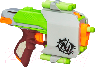 Бластер игрушечный Hasbro Nerf Зомби Сайдстрайк / A6557