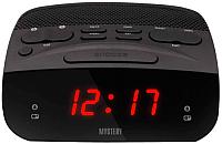 Радиочасы Mystery MCR-23 (черный/красный) -