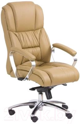 Кресло офисное Halmar Foster (светло-коричневый)
