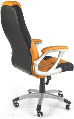 Кресло офисное Halmar Viper (черный/оранжевый)