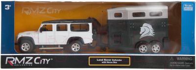 Масштабная модель автомобиля RMZ City Land Rover Defender с прицепом 544006-2TG (A)