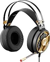 Наушники-гарнитура A4Tech BBloody M660 Chronometer (черный/бронзовый) -