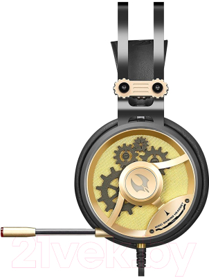 Наушники-гарнитура A4Tech BBloody M660 Chronometer (черный/бронзовый)