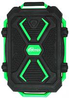 Портативное зарядное устройство Ritmix RPB-10407LT (черный/зеленый) -