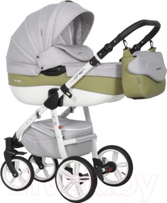Детская универсальная коляска Riko Nano Ecco 2 в 1 (01/olive)