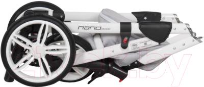 Детская универсальная коляска Riko Nano Ecco 3 в 1 (06/mocca)
