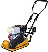 Виброплита Skiper С60 (LC160F, бак, колеса, мат) -