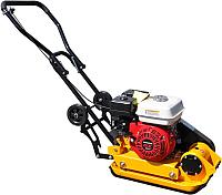 Виброплита Skiper С60 (LC160F, колеса, мат) -