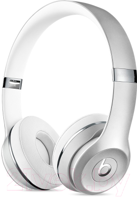 Наушники-гарнитура Beats Solo3 Wireless / MNEQ2ZM/A (серебристый)