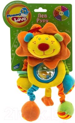 Развивающая игрушка Mommy Love Лев Руру LKS0\M