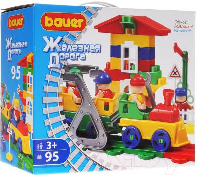 Конструктор Bauer Железная дорога 253 (95эл)