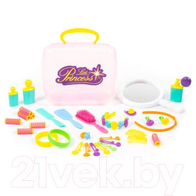 Набор аксессуаров для девочек Полесье Маленькая принцесса №3 / 47328 (в чемоданчике)