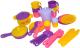 Набор игрушечной посуды Полесье Настенька на 6 персон / 3933 -