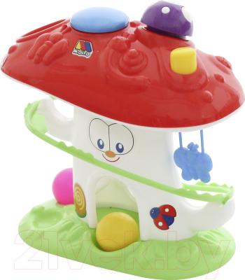 Развивающая игрушка Полесье Забавный гриб / 47892 (в сеточке)