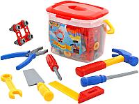 Набор инструментов игрушечный Полесье №1 / 47151 (72эл, в ведерке) -