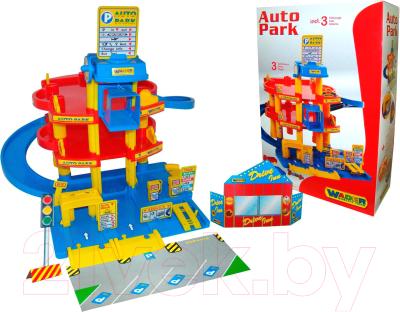 Паркинг Полесье 3-уровневый с автомобилями / 37893 (в коробке)