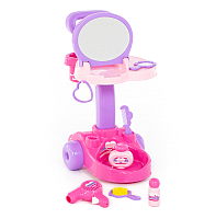 Туалетный столик игрушечный Полесье Салон красоты Диана / 36629 (в коробке) -
