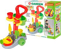 Тележка с инструментами игрушечная Полесье Садовник / 36599 (в коробке) -