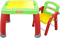 Комплект мебели с детским столом Полесье Набор дошкольника №2 / 43023 (в коробке) -