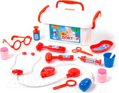 Набор доктора детский Полесье Доктор №2 / 53619 (в контейнере)