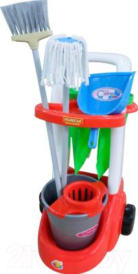 Набор хозяйственный игрушечный Полесье Помощница / 46956 (в сеточке)