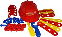 Набор инструментов игрушечный Полесье Механик №2 / 44686 (31эл, в сеточке) -