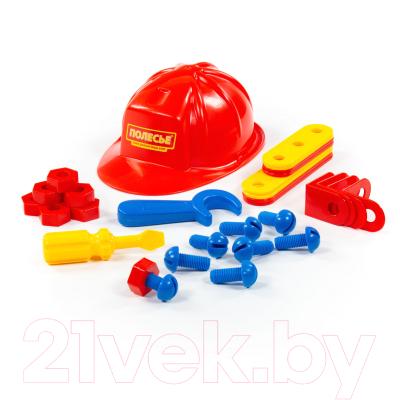 Набор инструментов игрушечный Полесье Механик №2 / 44686 (31эл, в сеточке)