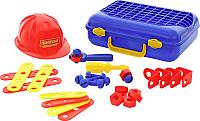 Набор инструментов игрушечный Полесье Механик №2 / 43184 (31эл, в чемодане) -