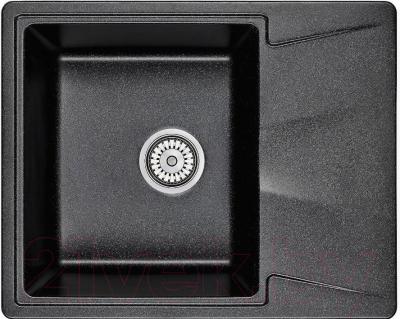 Мойка кухонная Granula GR-6201 (шварц)