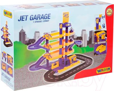 Паркинг Полесье Jet 4-уровневый с дорогой / 40220 (в коробке)