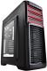 Корпус для компьютера Deepcool Kendomen RD / DP-CCATX-KDM5FBKRD (черный/красный) -