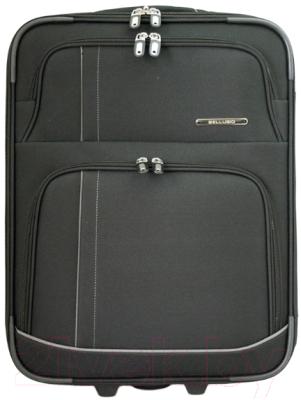 Чемодан на колесах Bellugio WA-6021S (черный)