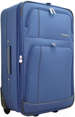 Чемодан на колесах Bellugio WA-6022M (синий)