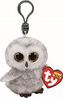 Мягкая игрушка TY Beanie Boo's Совенок Owlette на брелке / 35020 -