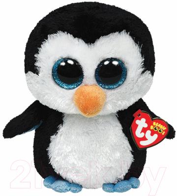 Мягкая игрушка TY Beanie Boo's Пингвин Waddles / 36008