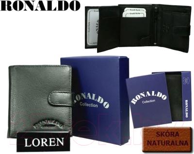 Портмоне Cedar Ronaldo 0720L-D (черный)