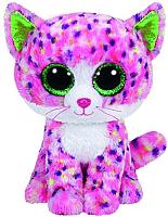Мягкая игрушка TY Beanie Boo's Котенок Sophie / 36189 (розовый) -