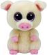 Мягкая игрушка TY Beanie Boo's Поросенок Piggley / 37200 -